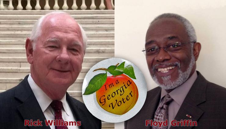 State House District 145 Republican Nominee Rick Williams and Democratic Nominee Floyd Griffin