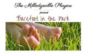 The Milledgeville Players present Barefoot in the Park August 3rd through 5th in the Russell Auditorium.