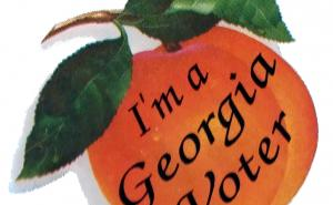 I'm A Georgia Voter sticker