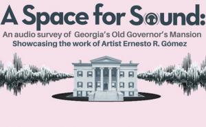 Poster image for the installation A Space for Sound