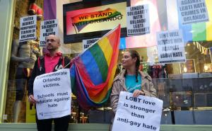 LGBT protest to stop the hate