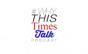 #Why This Times Talk podcast text logo