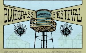 Bluegrass Festival at Andalusia postcard